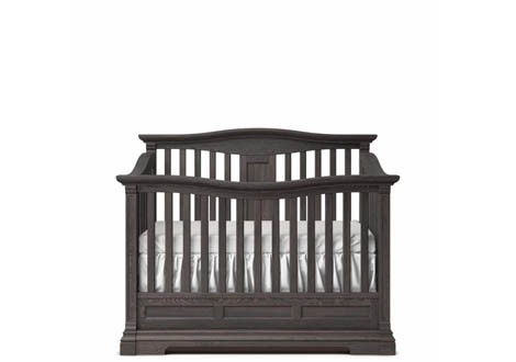 Imperio Convertible Crib with Slatted Headboard