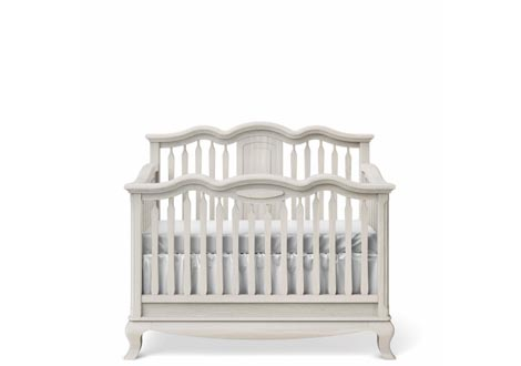 Cleopatra Convertible Crib with Slatted Headboard