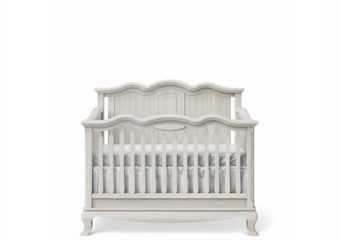 Cleopatra Convertible Crib Solid Back 6