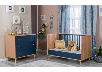 Crib and Dresser 2