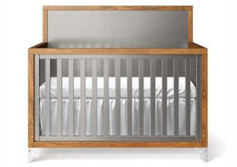 Pandora Two Tone Crib