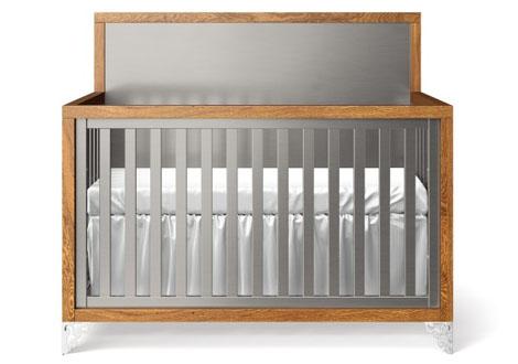 Pandora Convertible 2 Tone Crib