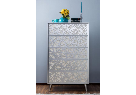 New york tall chest by romina furniture