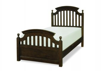 Twin Bed in Molasses