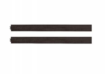Evolur Full Size Conversion Kit Bed Rails in Cafe Noir-Stone
