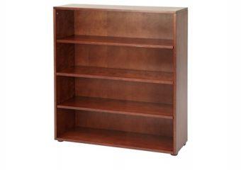 Maxtrix Four Shelf Bookcase in Chestnut