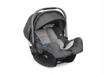 PIPA INFANT CAR SEAT GRAPHITE ANGLE