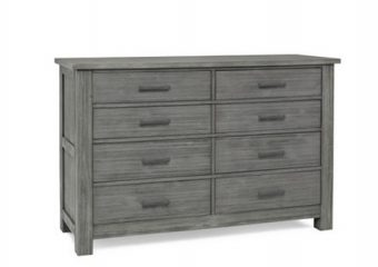 LUCCA 8 DRAWER DRESSER IN WEATHERED GREY
