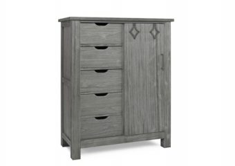 LUCCA CHIFFOROBE IN WEATHERED GREY