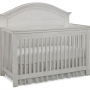 LUCCA Crib in Seashell White
