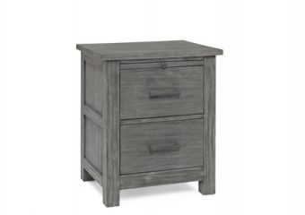 LUCCA NIGHT STAND IN WEATHERED GREY