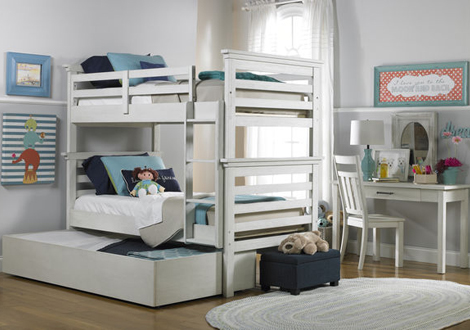 Lucca Twin Bunk Bed By Dolce Babi Furniture