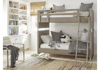 Axis Complete Twin Bunkbed and Chair Roomshot 1