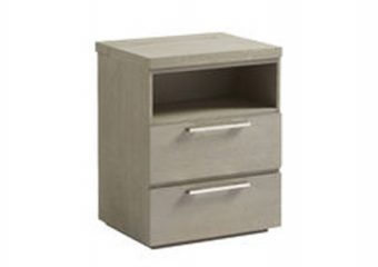 Axis Two Drawer Nightstand 1