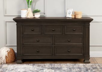 Classic Double Wide Dresser in Truffle
