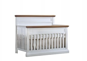 Cortina Convertible Crib White Chalet
