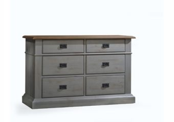 Cortina Double Dresser Grey Chalet