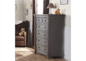Cristallo 5 Drawer Chest Granite