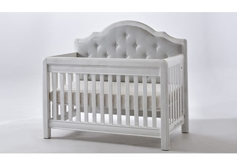 Cristallo Forever Crib Beige Fabric By Pali Furniture