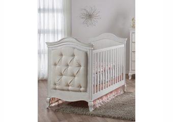 Diamante classico crib vintage white
