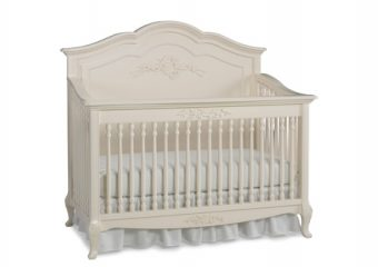 Dolce Babi Angelina Full Panel Crib in French Vanilla (2)