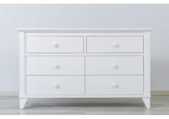 Edison 6 Drawer Chest White