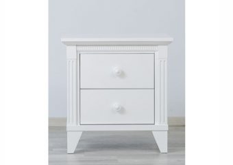 Edison Nightstand White