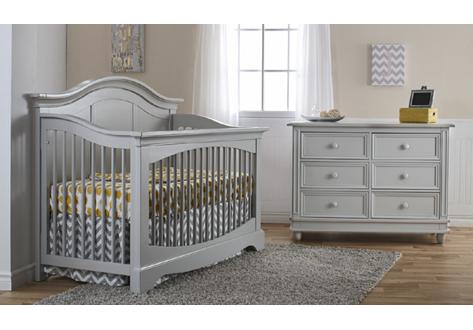 Enna Forever Crib Amp Double Dresser Bundle By Pali Furniture
