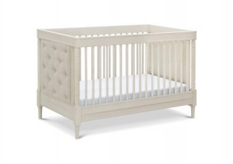 Everly Convertible Crib Distressed White