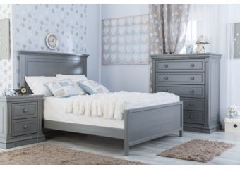 Jackson Fullbed with Low Footboard Flint