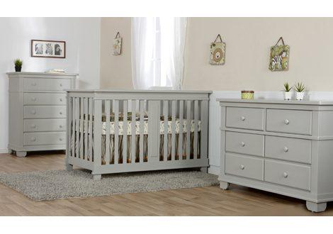 Lucca Forever Crib & Double Dresser Bundle