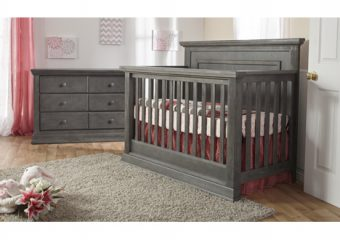MOdena FOrever Crib Distressed Granite 2
