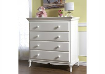 Mantova 4 Drawer Dresser White