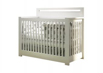 Milano Convertible Crib White