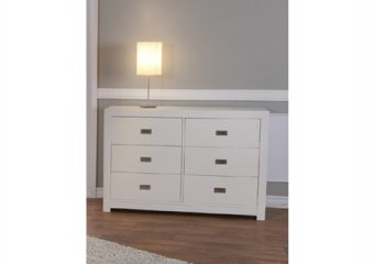 Novara double dresser white