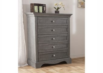 Ragusa 5 drawer dresser distressed granite