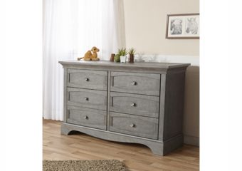 Ragusa double dresser distressed granite