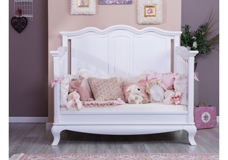 ... Romina Furniture Cleopatra Collection   Solid Panel Day Bed (5) ...