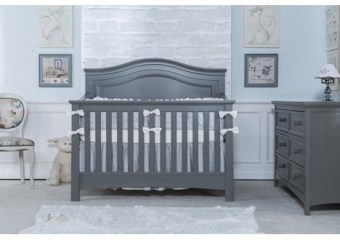 Serena 4 in 1 Convertible Crib Flint 1