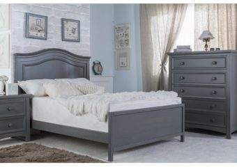 Serena Full Bed with low headboard Flint