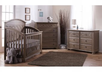 Siracusa forever crib distressed desert