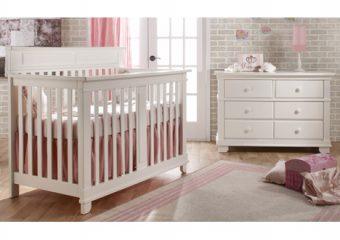 Torino Forever Crib White