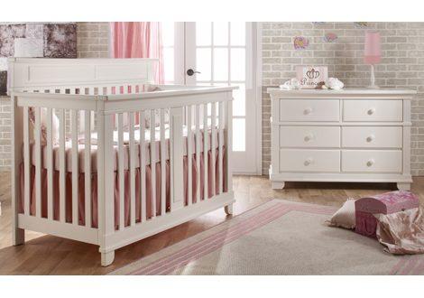 Torino Forever Crib & Double Dresser Bundle