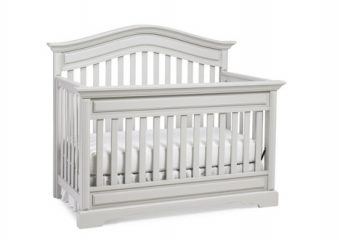 VENEZIA CRIB IN MISTY GREY