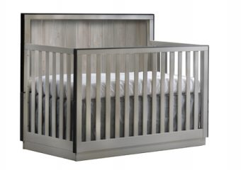 Valencia COnvertible Crib Grey Chalet
