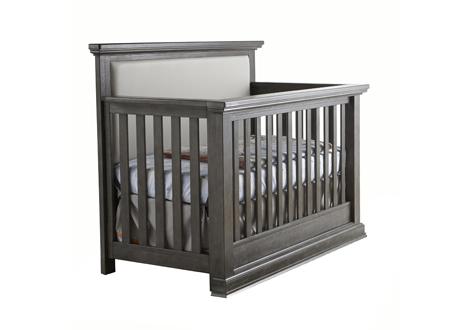 Modena Forever Crib with Upholstered Panel