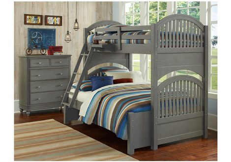 Lake House Adrian Twin Over Full Bunk Bed