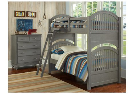 Lake House Adrian Twin Bunk Bed