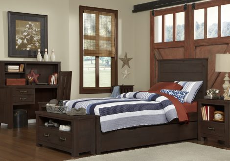 Highlands Alex Twin Panel Bed