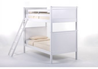 Casey Bunkbed Twin over Twin White